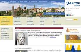 Internetauftritt der Stadt Bautzen
